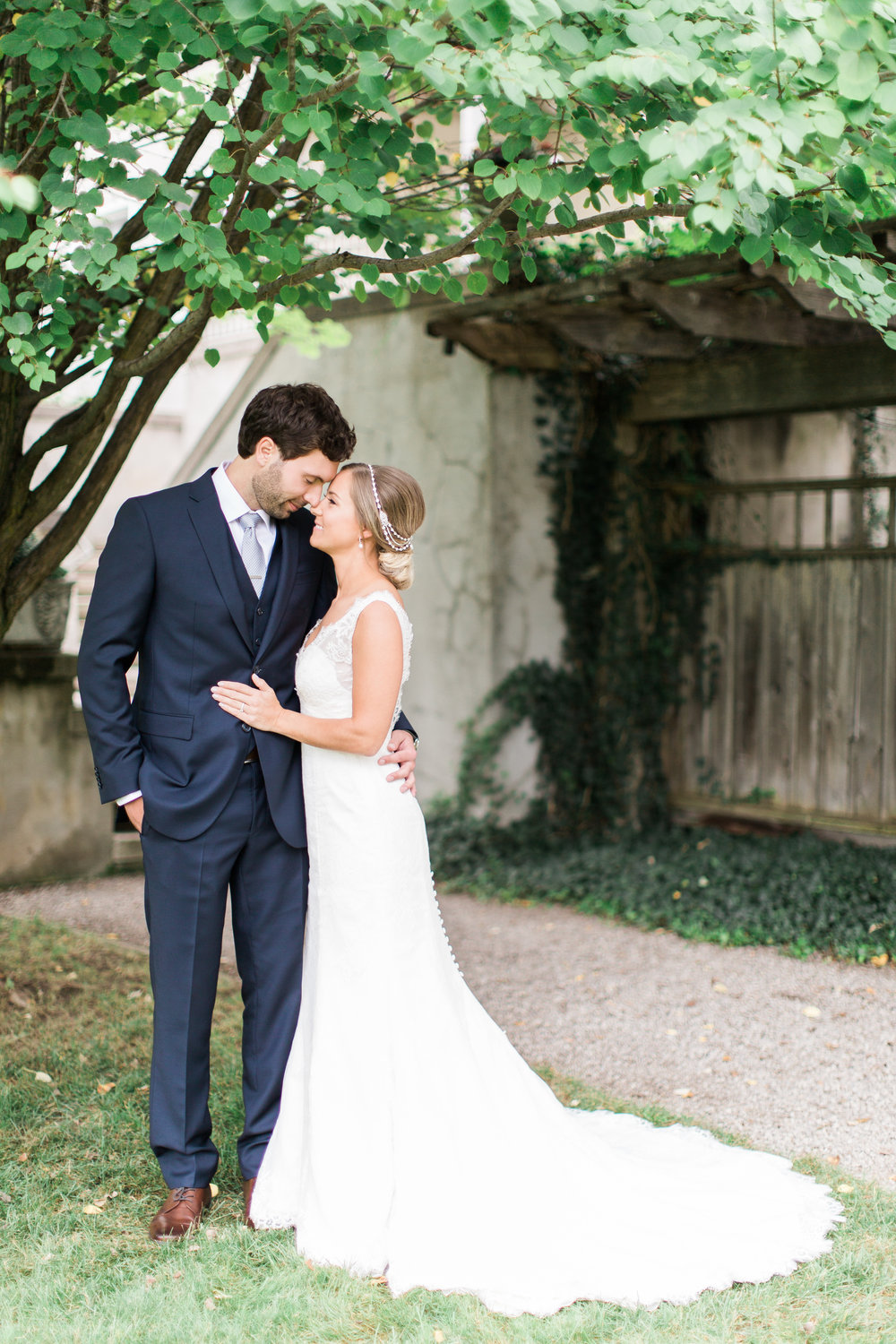 Romantic summer wedding at Langdon Hall in Cambridge