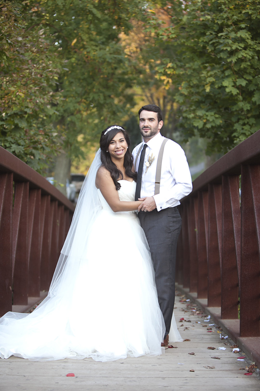 Fall wedding in Niagara, Ontario