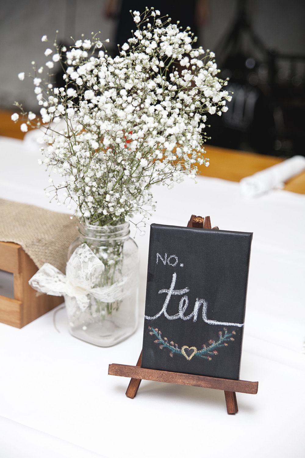 DIY farm wedding decor in Niagara