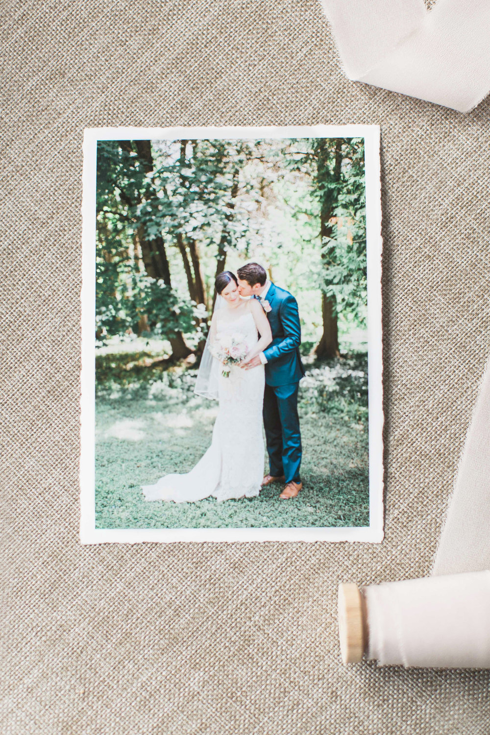Fine art prints from wedding.