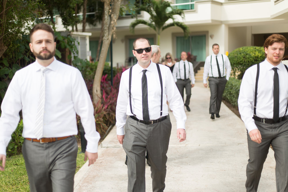 groomsmen in mexico