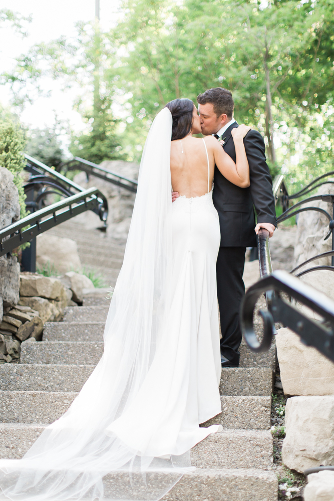 summer wedding at ancaster mill