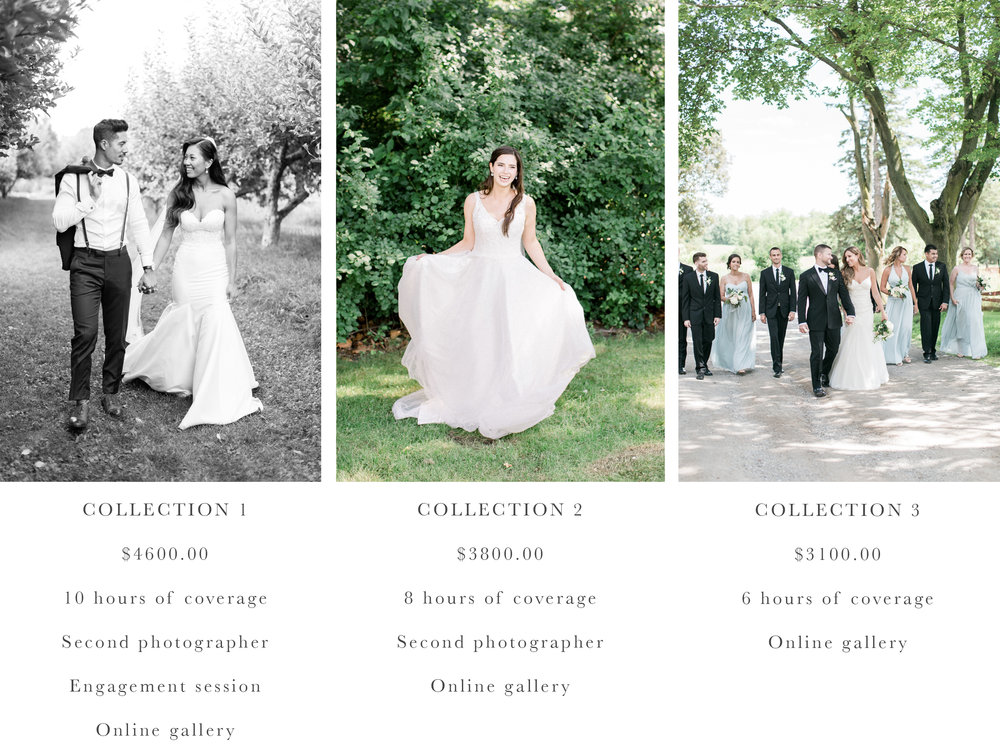 Bright and airy wedding photographer.