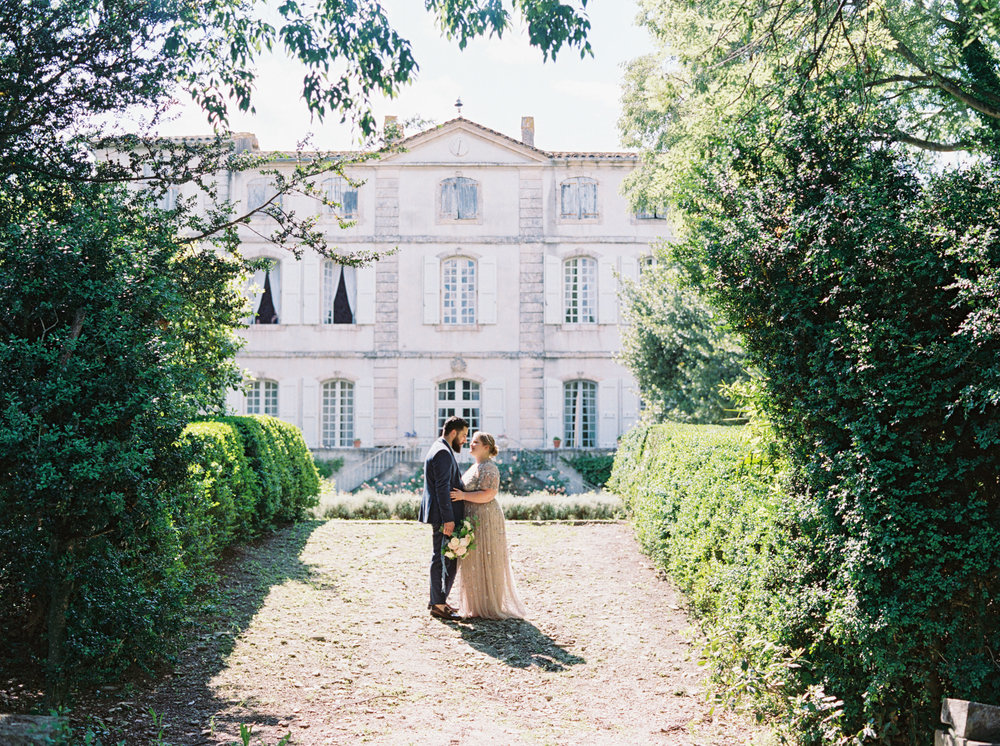 Destination wedding in the South of France.
