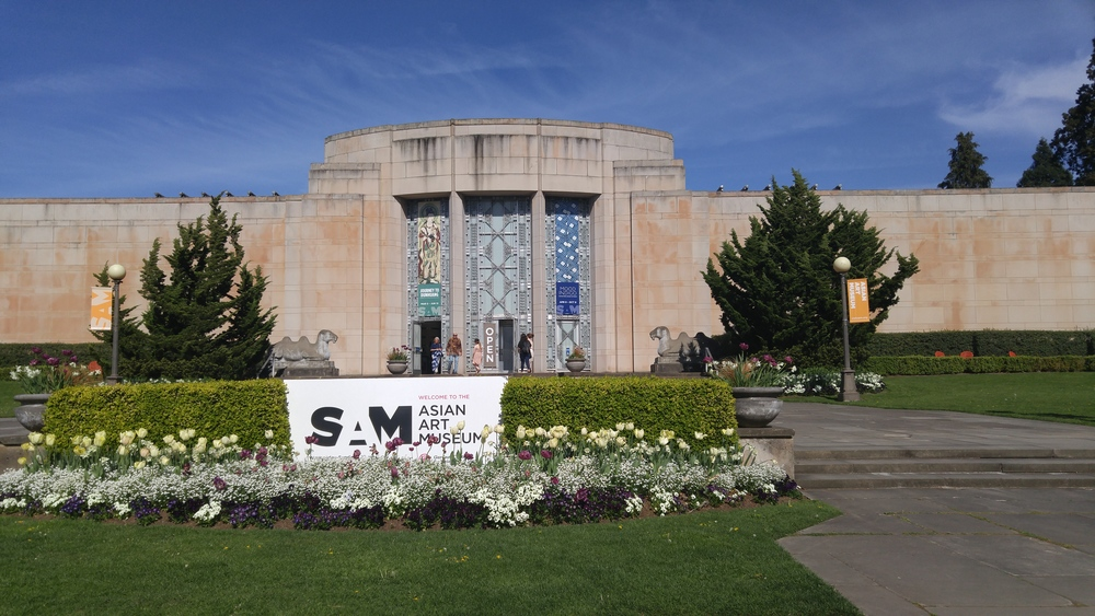 SAM Asian Art Museum in Volunteer Park