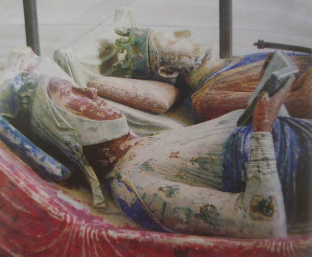 The effigy of Eleanor of Aquitaine at Fontevraud Abbey