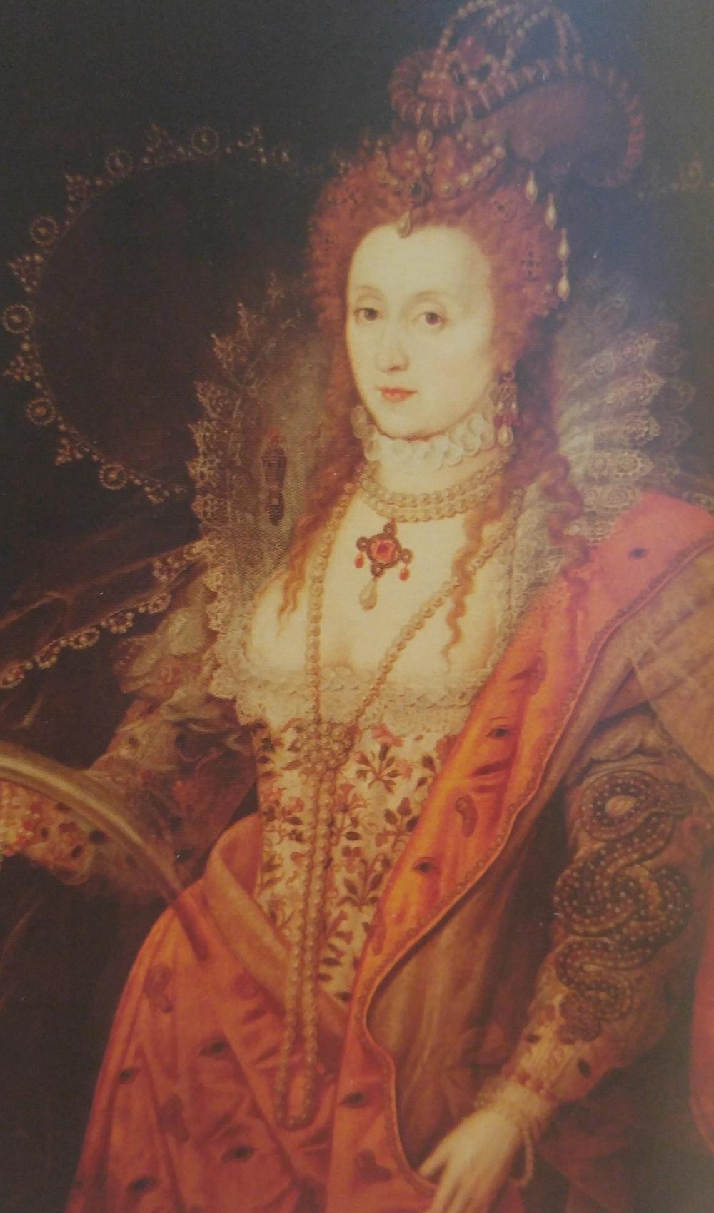 Elizabeth I of England, age 66
