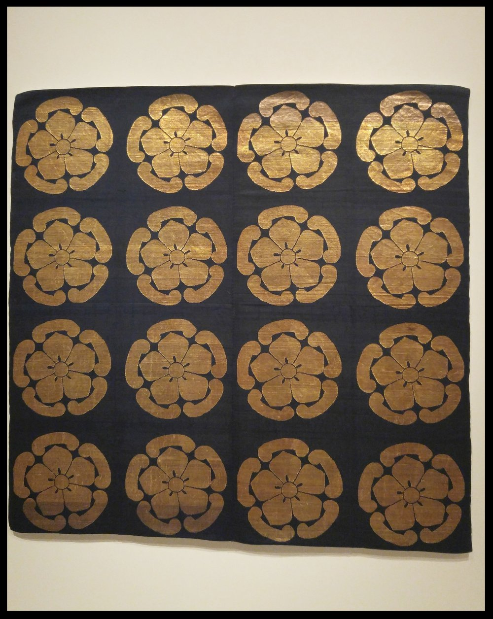 Buddhist Altar Cloth (uchishiki), early 19th century