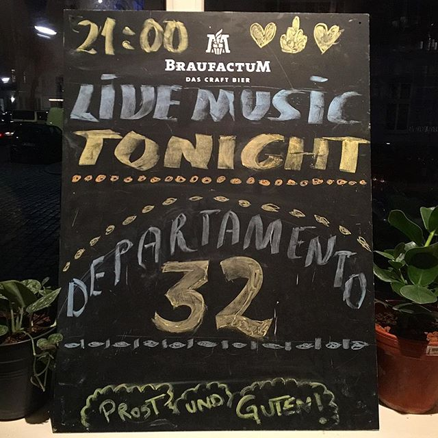 Wild Things is proud to present a music session with Departamento 32 on Sunday 18/3 @ 21:00 LIVE  Free entrance, natural wines and food on offer.  Departamento 32 is a Chilean duo touring for the first time in Europe. Mixing influences from Noise mysic, ambient and blues with their South American roots, Departamento 32 is intimate trip though the Chilean soul exploring the darkness of modern life. #livemusic#livemusicberlin#departamento32