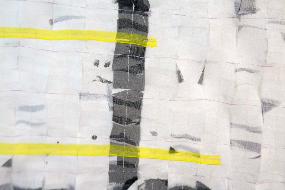 Sewn Grid, detail