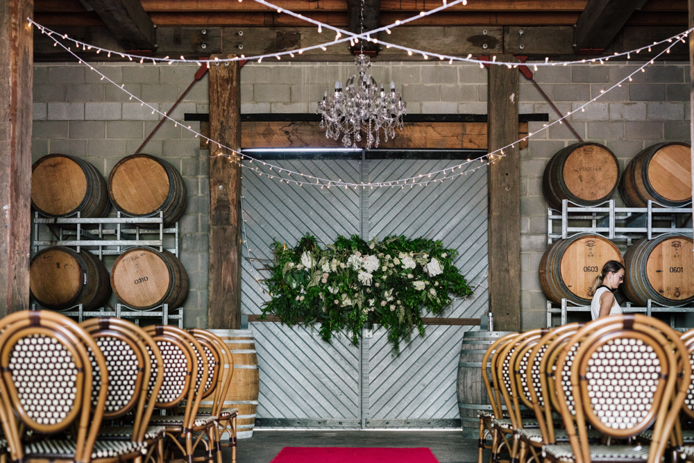 Luxury Rustic Hanging Flowers Hunter Valley