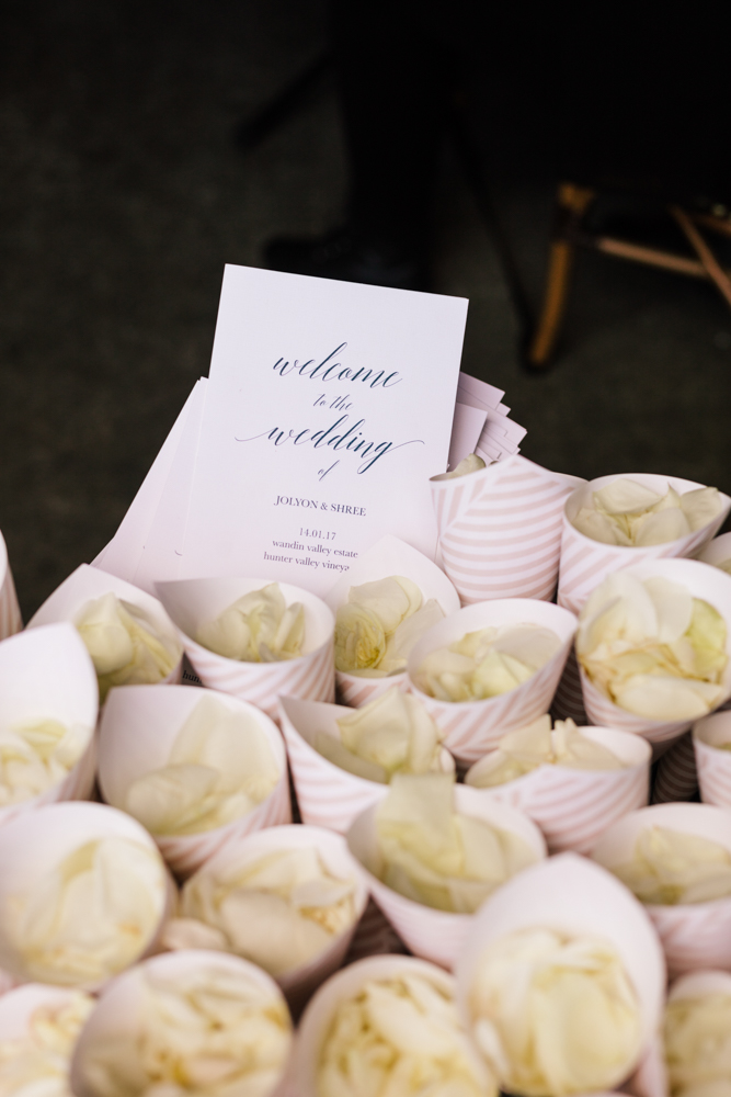 Rose Petal Confetti  - Wedding Flowers Hunter Valley