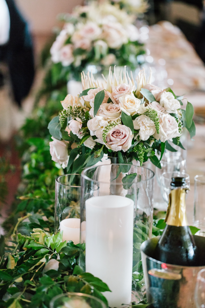 Pretty Brides Bouquet - Wedding Flowers + Styling Hunter Valley