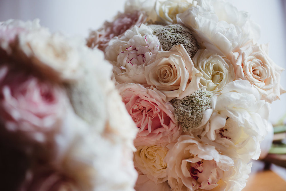 Brides Peony Wedding Bouquet - Wedding Flowers Hunter Valley