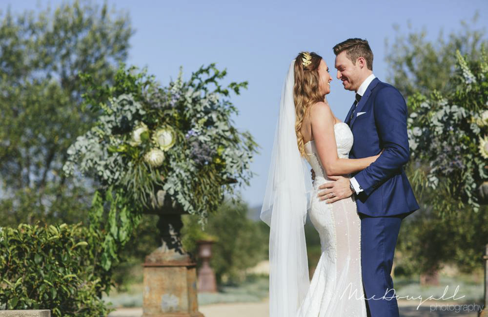 Native Ceremony Arrangement - Wedding Flowers Hunter Valley