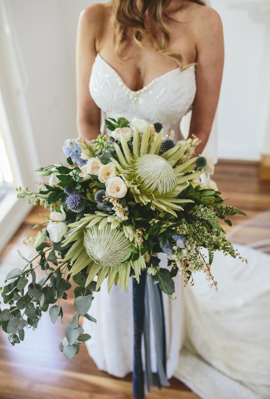 Native Brides Bouquet - Wedding Flowers Hunter Valley