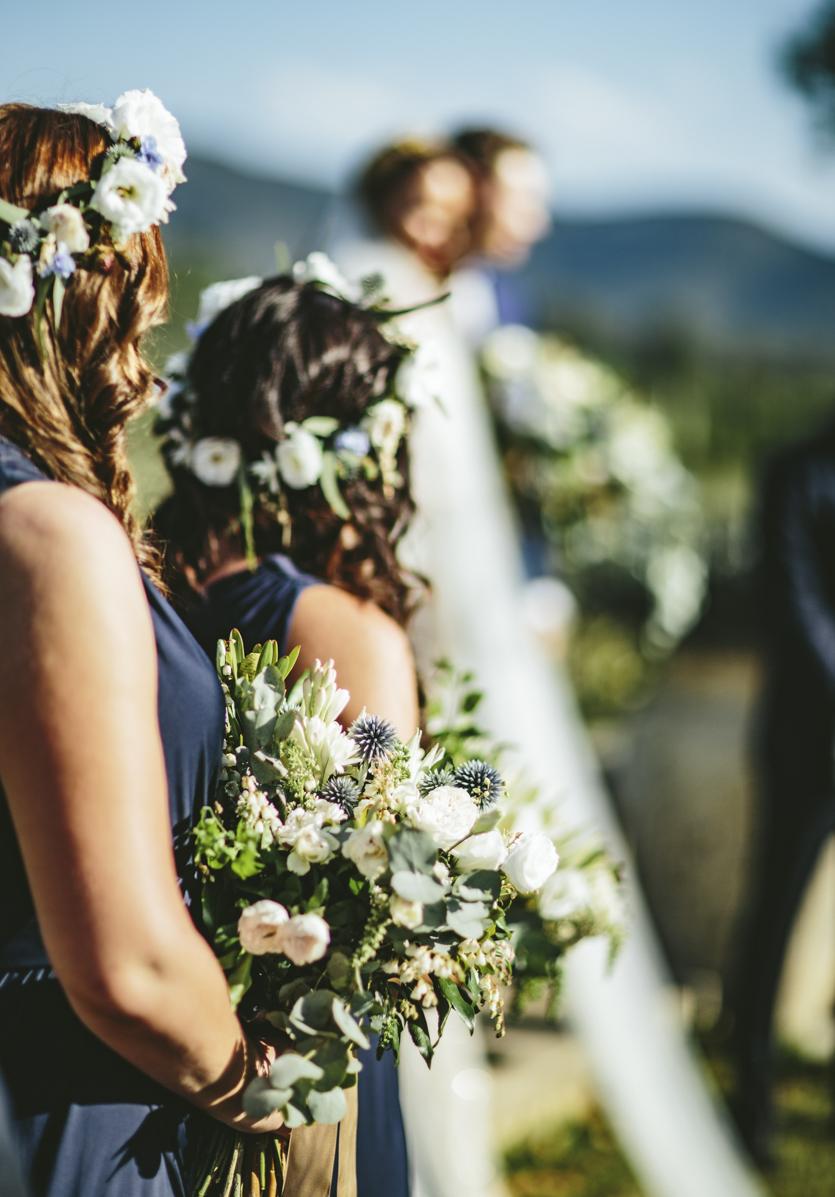 Native Bridesmaids Bouquet - Wedding Flowers Hunter Valley