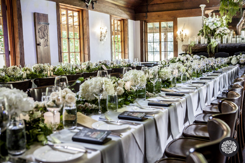 Flower Centrepieces + Tabletop Hire - Wedding Flowers + Styling Hunter Valley