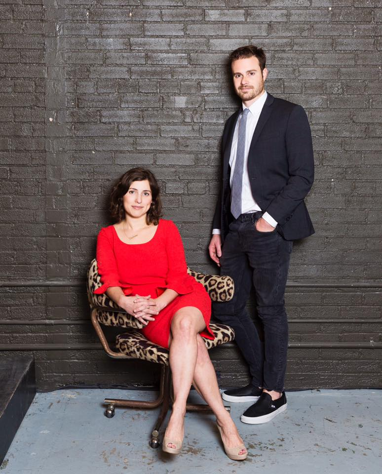Stephanie Wittels Wachs + Matt Hune, co-founders. Photo by Julie Soefer