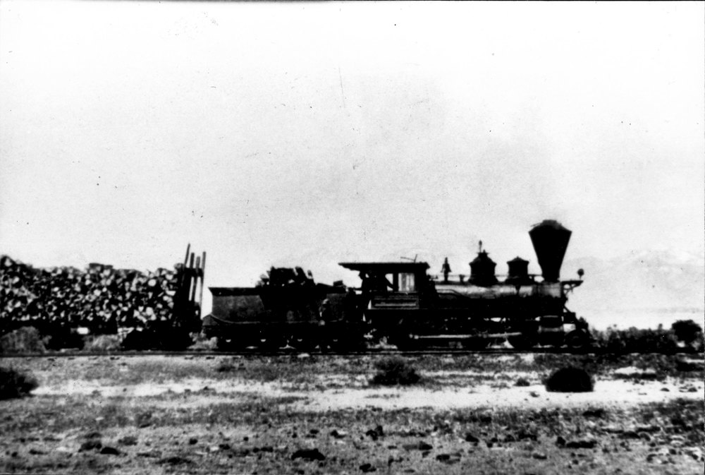 """The Mono,"" the Bodie-to-Benton Railroad locomotive"