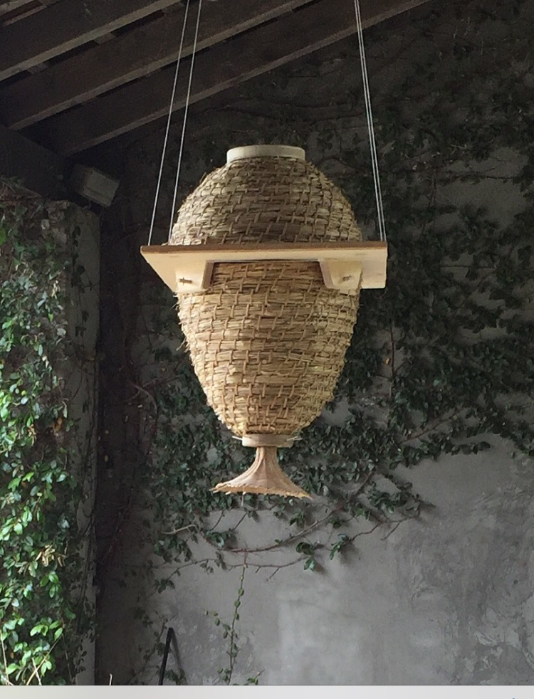 a Sun Hive on display.