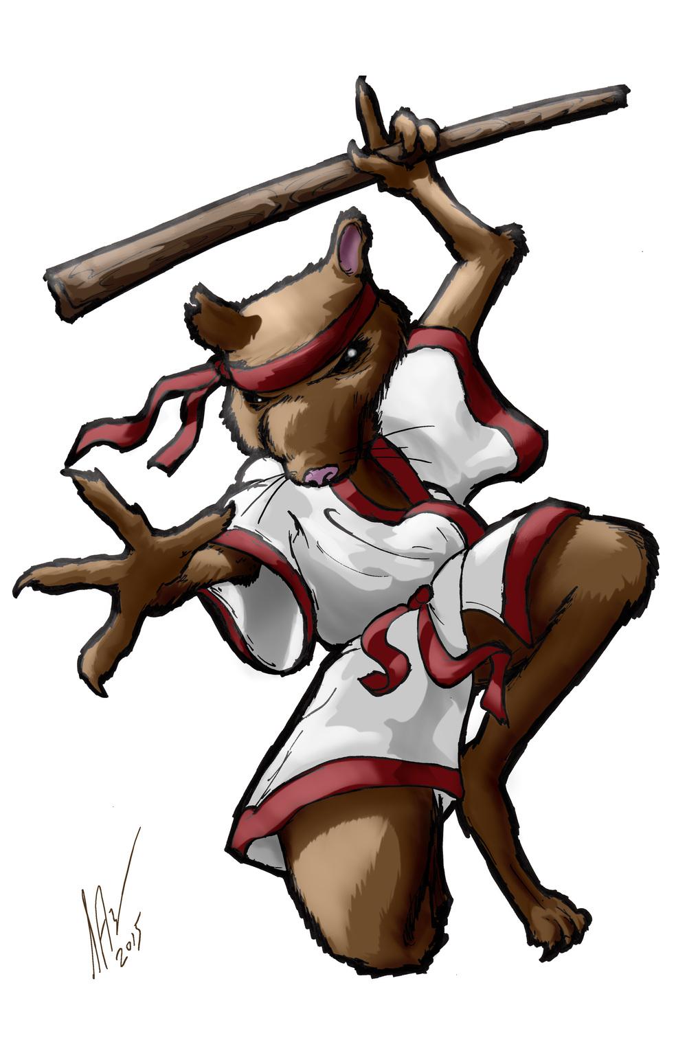Splinter-Ninja Rat 11x17.jpg