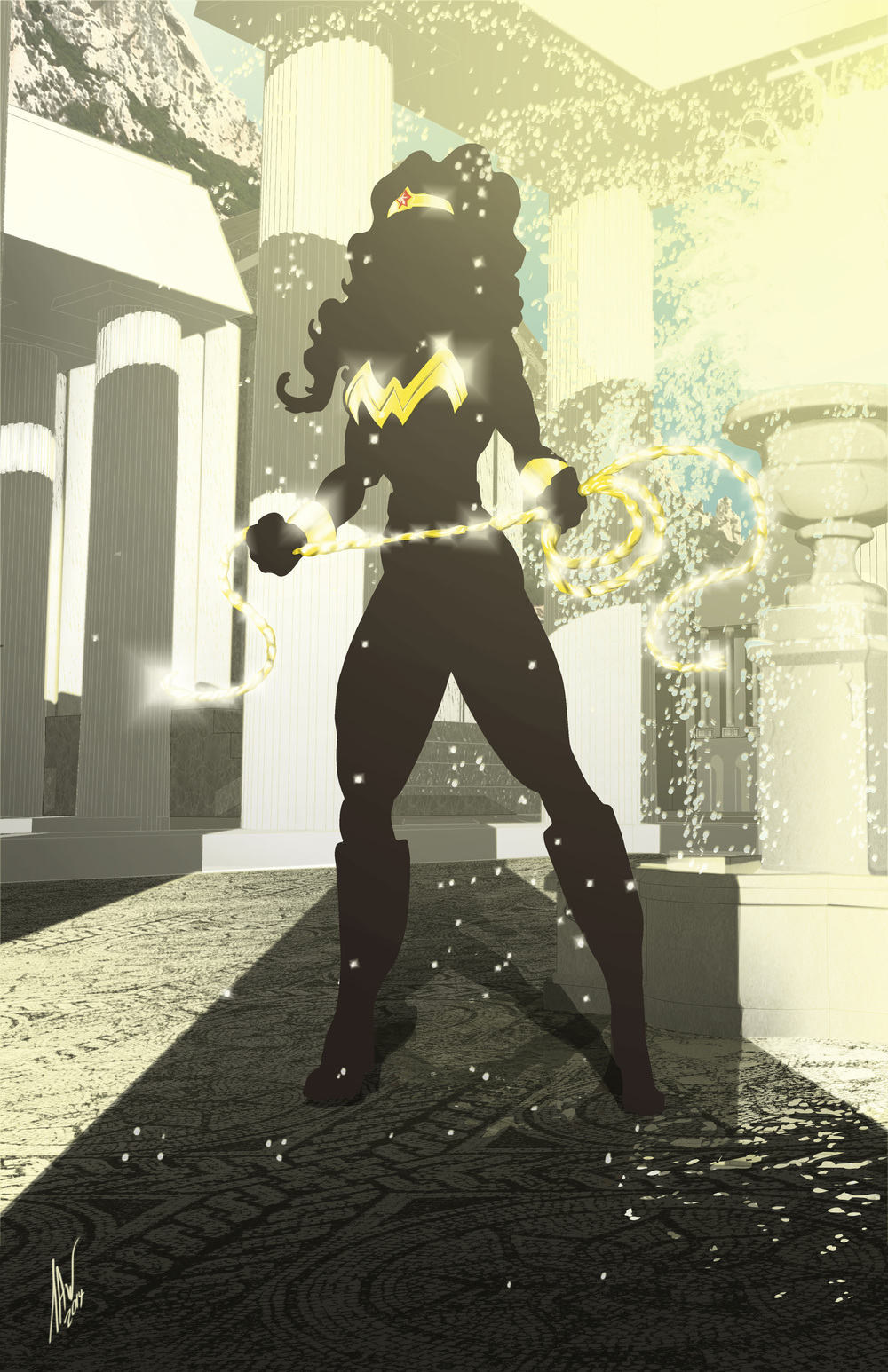 Wonder Woman-Golden Amazon 11x17.jpg