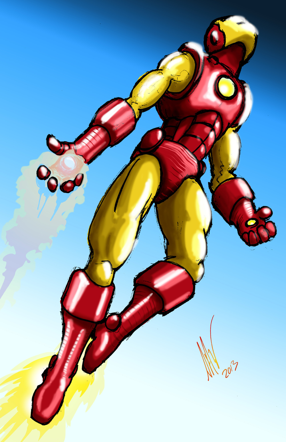 Iron Man-Red and Gold 11x17.jpg