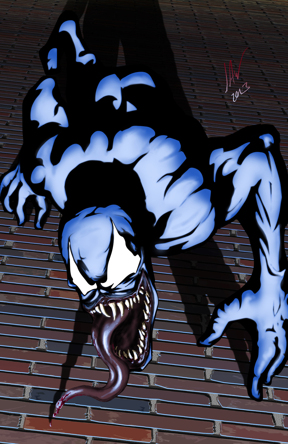 Venom-Creepy Neighborhood Symbiotic Man 11x17.jpg