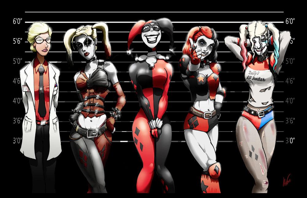 Harley Quinn - Line Up 11X17.jpg