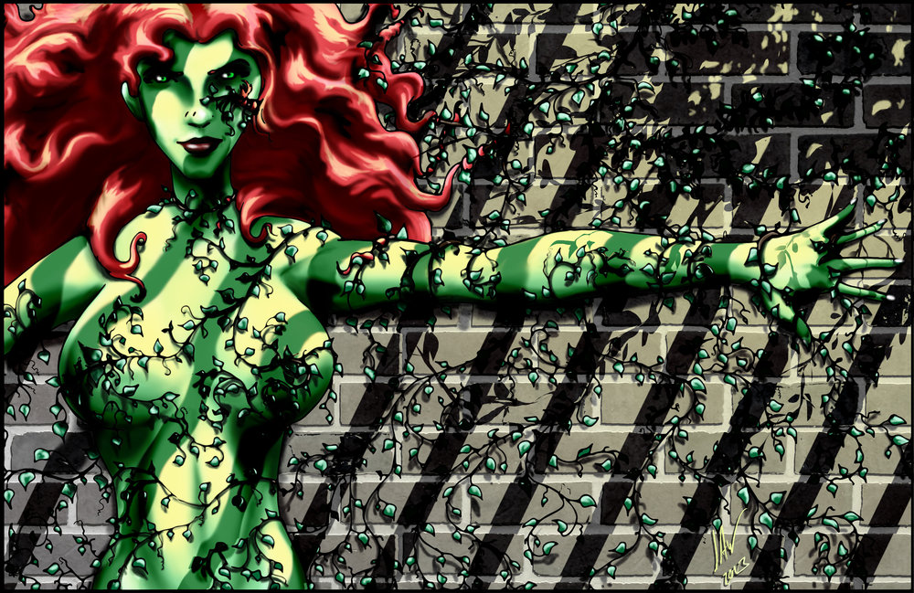 Poison Ivy-Ivy Covered Wall 11x17.jpg
