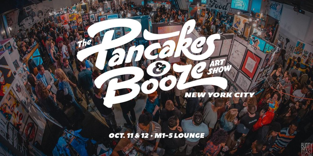 The Pancakes & Booze Art Show, New York City