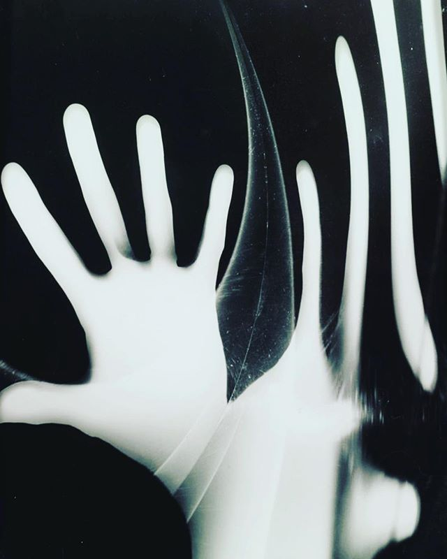 """György Kepes """"Is Everything Old New Again"""" [black and white, abstraction of exposed hand]""""Mirrored Eyes"""", [black and white, several kohl lined eyes refracted through mirrors] """"Deformations"""" [misshapen black and white forms, striped abstractions]. In 1947, Kepes accepted an invitation from the School of Architecture and Planning at MIT to initiate a program there in visual design, a division that in 1968 became the Center for Advanced Visual Studies (CAVS). This series of work all produced over 50 years ago. #gyorgykepes #mit #cavs"""