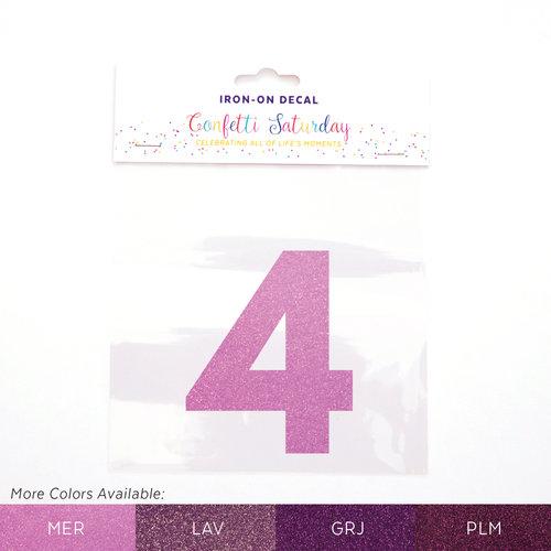4 iron on decal glitter purple confetti saturday mermaid purple glitter 4 mer color chartg publicscrutiny Image collections