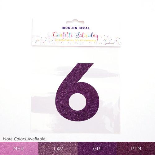 6 iron on decal glitter purple confetti saturday grape jelly purple glitter 6 grj color chartg publicscrutiny Image collections
