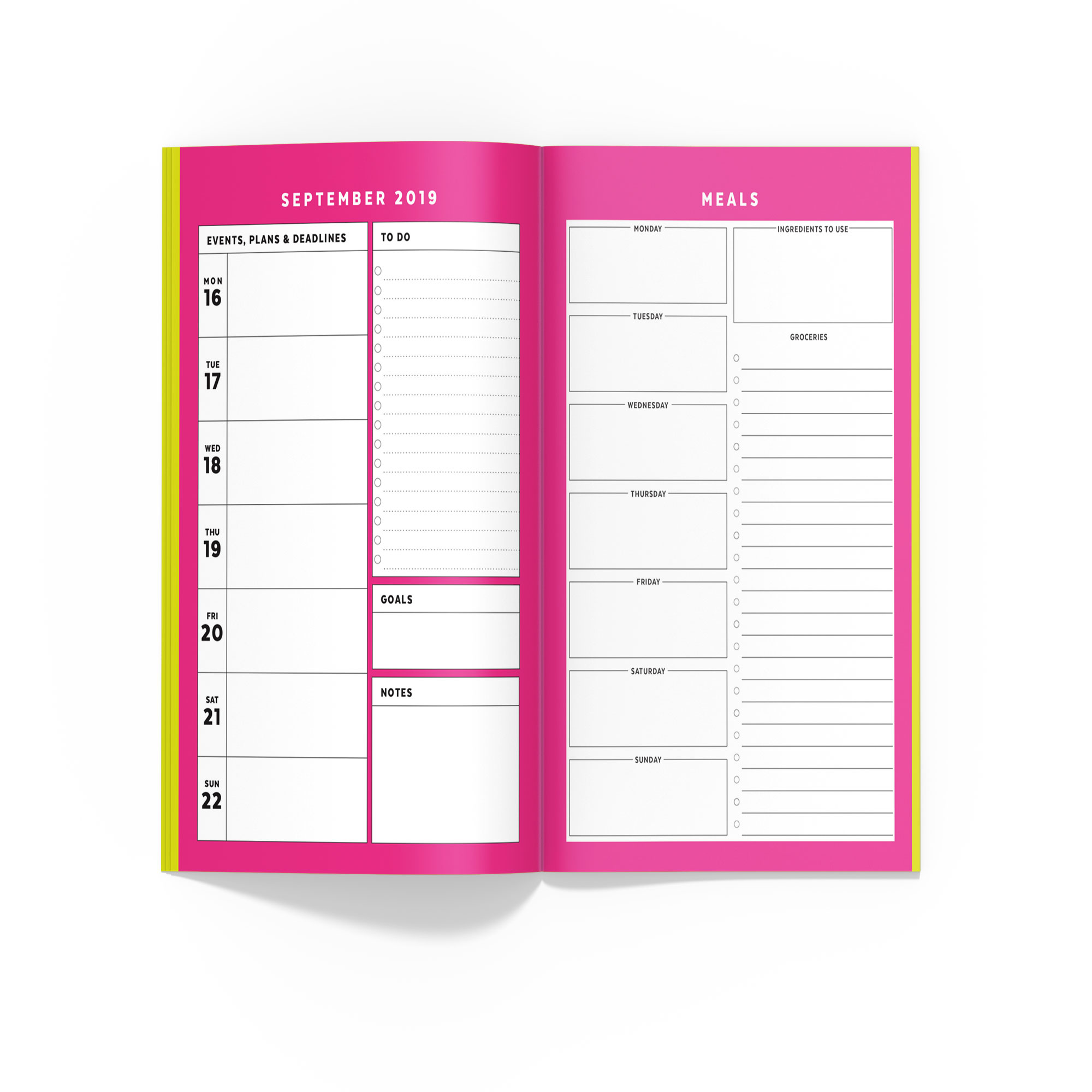 graphic about Midori Insert Printable named Pet dog Planner // Signature Stripe