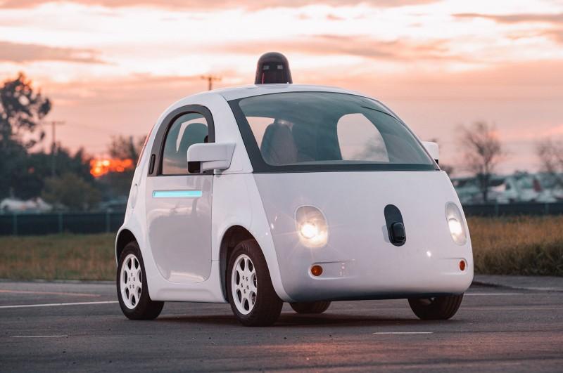 Google's prototype autonomous car