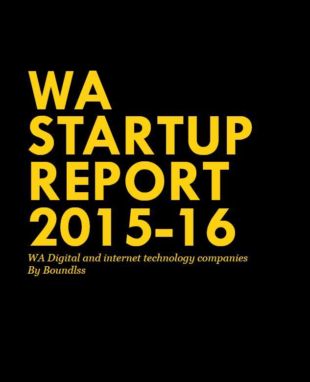 WA Startup Report 2015-16