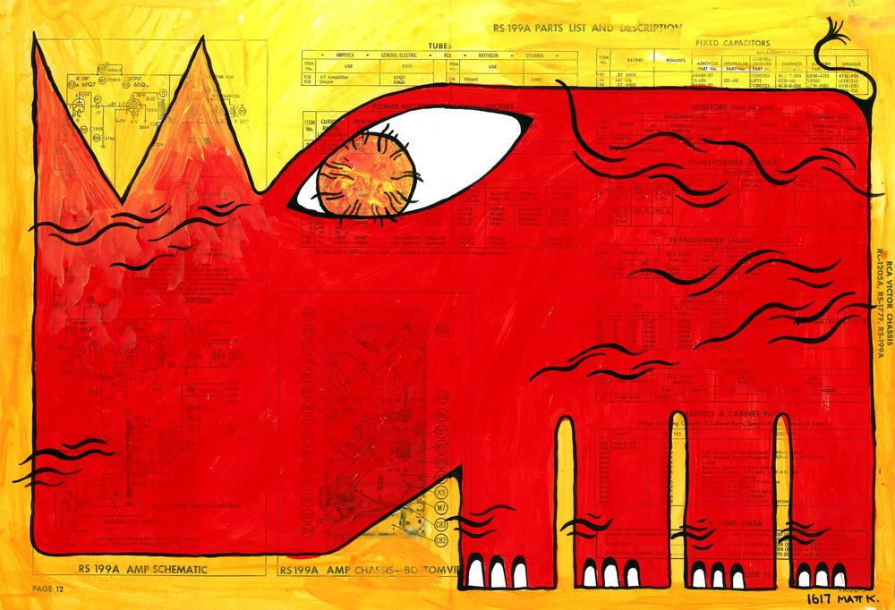 A RADIANT BESTIARY: Rhinoceros