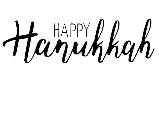 Happy Hanukkah from our team @moshecohenhair #yeg
