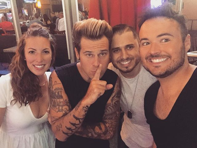 Shout out to my man @ryancabrera for lacing us up with tickets to his show last night! #my2ktour #iswearididntsingalongtoeverysong #ididbutitstotallychill