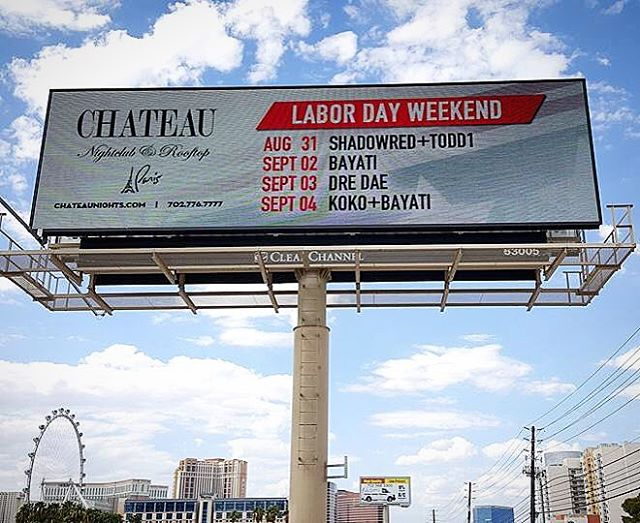 Round 1 down, thanks to @flamingovegas for havin us out.  Round 2 tonight @chateaunightclub let's go!! 🙌🏼🙌🏼 #kokoandbayati #ldw2016