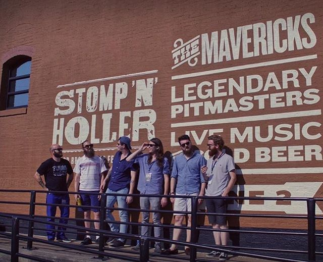 We came, we stomped, we hollered. Great times at the second annual @stompnhollerfest in the heart of Taylor, Texas. Thanks so much for the hospitality, y'all. It was much appreciated. - 📸 by @chris_on_loc  ____________________________________________ #stompnholler #stompnhollerfest #themismatch #mismatchmusic #folk #americana #blues #grooves #bluegrass #band #livemusic #musicfestival #festivallife #themavericksband #themavericks #taylortx #guitar #banjo #mandolin #violin #drums #vox #vocals #bassguitar