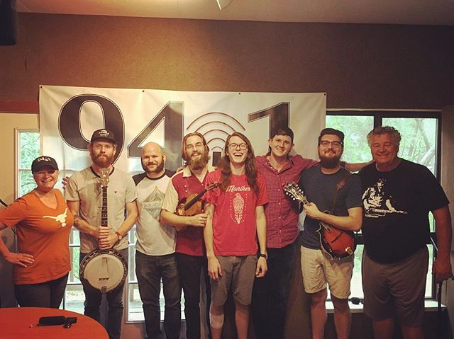 We had a blast yesterday on Over Easy With Coach on Wimberley Valley Radio! You can check out a live recording of the show on our Facebook page as well as in the archives at wimberleyvalleyradio.org. Thanks Coach and KWVH for having us out!  _________________________________________ #radio #wimberleyvalleyradio #kwvh #overeasywithcoach #wimberleytx #wimberleytxmusic #americana #folk #fiddle #banjo #mandolin #radioshow #ontheair #bluegrass #guitar #drums #bassguitar #atxmusic #folkmusic #countrymusic #hillcountrymusic #acoustic #94.1 #wimberleyradio #love #music #goodtimes #goodvibes #goodday