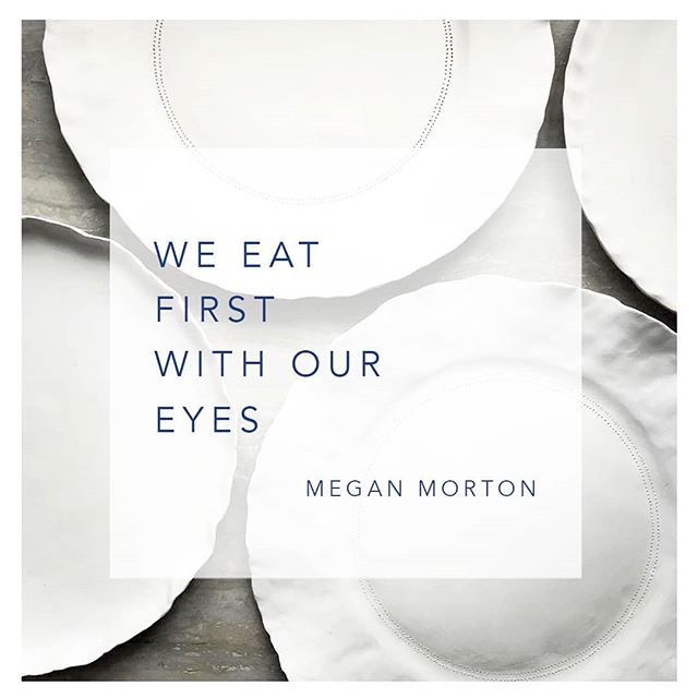 We love this Megan Morton quote  from Sunday Life Magazine....the way we dress our dining tables should reflect the joy of the meal to come. We eat with all our senses, not just our taste buds. Great company, good food and a well dressed table - the delight of eating amongst friends on a summery day . Gorgeous handmade crockery by the brilliant @nicolahartstudios . . . . . #sundayfolkdining #tablesetting #tableware #napery #tablescape #tablesetting #textilelove #textiledesign #australiandesign #madeinaustralia #shopsmall #interiordesign #tablerunner #artisticinteriors #eclectichome #textiledesigner #designlife #styleinspo #interiordecorating #awelldressedtable #festivetable #australiandesigner  #deliciousmagazine  #homewares #textiledesign #handcraftedceramics #nicolahartstudios #christmasdecorating