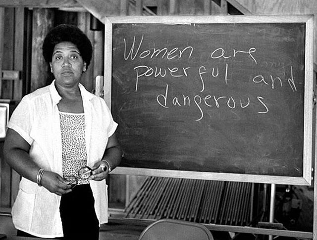 Happy birthday, #AudreLorde. Her feminism and activism was intersectional, as everyone's must be. Her legacy is long and great ✊🏿✊🏾✊🏽✊🏼✊🏻✊