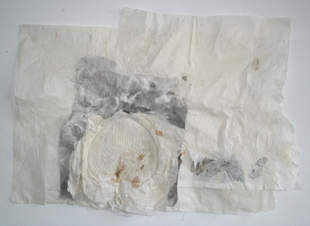 Lin Yan,  Breeze  微风 , 2014, ink and Xuan paper, 33 x 48 in. ( 83.8 x 121.9 cm) ©2017 Lin Yan, Courtesy Eslite Gallery, Taipei.