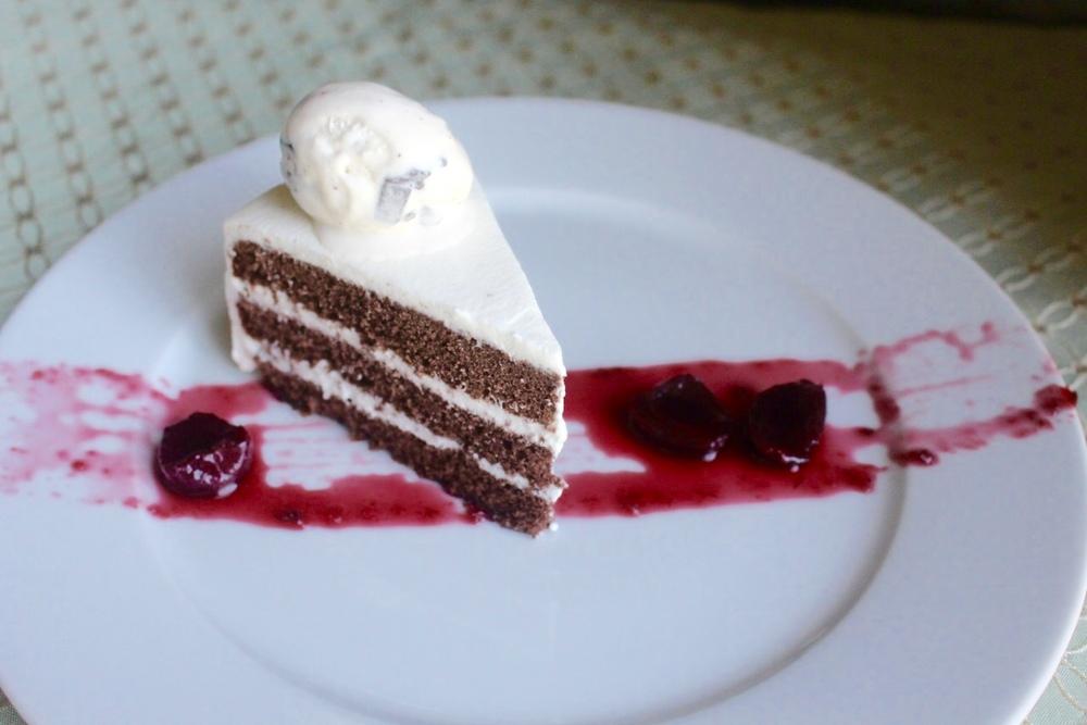 Gateau Au Chocolat 巧克力橘子酒奶油蛋糕
