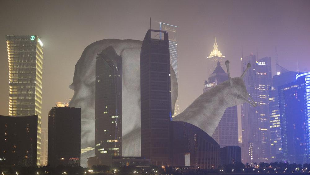 Tiger Chengliang Cai.  Six Dreams About A City , 2014. Experimental Film, 24'12''. 蔡承良. 孤城六梦, 2014. 实验电影短片, 24'12''.