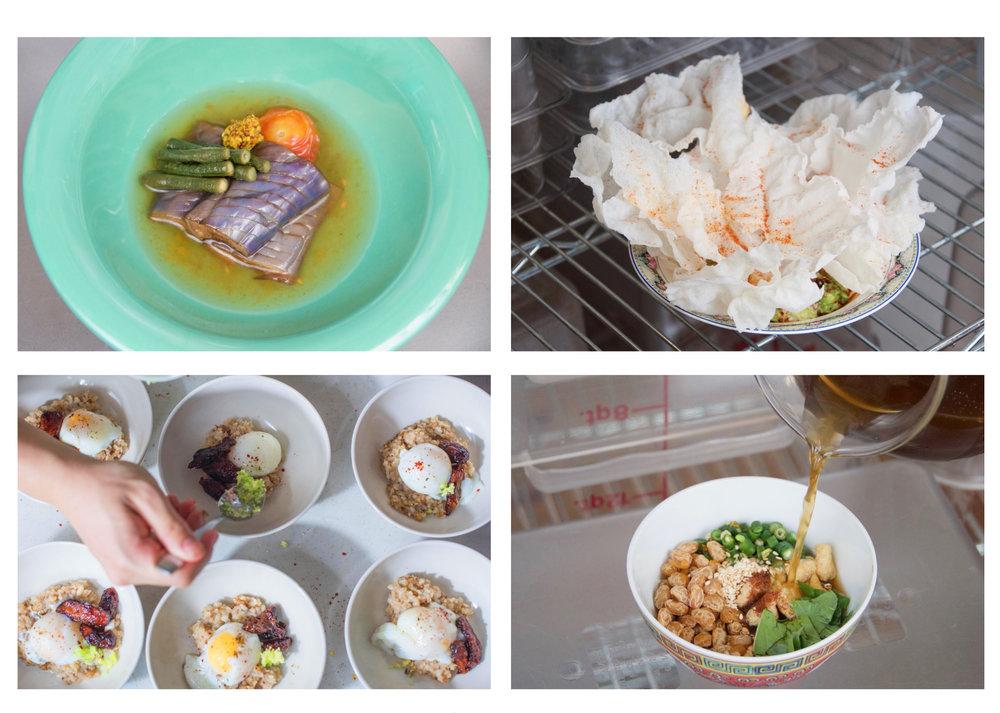 Sample dishes from Junzi Kitchen, photograph provided by Junzi Kitchen